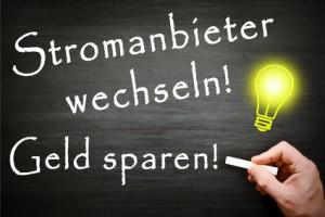Tafel Stromanbieter wechseln - Geld sparen!
